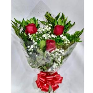 Ramalhete de 03 Rosas