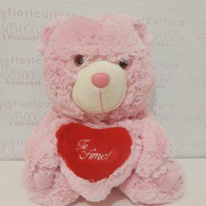Urso Rosa Te Amo