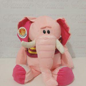 Pelúcia Elefante Rosa